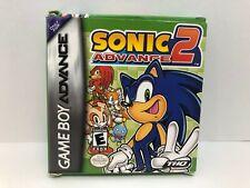 Sonic Advance 2 - GBA CIB Complete (Includes Poster)