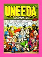 UNEEDA COMIX, 1ST PRINT, 1970, PRINT MINT, ROBERT CRUMB, MR. NATURAL, UNDERGROUN