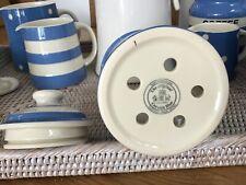 Cornishware storage pot