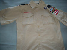 BOY SCOUTS OFFICIAL UNIFORM SHIRT Youth Large