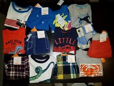 NWT Size 12-18 Months Summer Lot of Summer Clothes Outfits Gymboree Boys truck