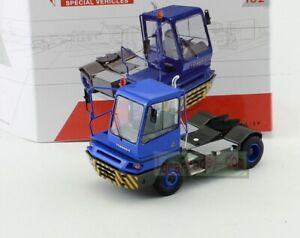 1/50 Scale model TERBERG SPECIAL VEHICLES YT 182 Diecast truck model Blue