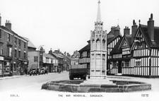 The War Memorial Sandbach Nr Crewe unused RP pc Frith