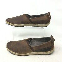 Merrell Select Grip Ashland Slip On Casual Shoes J42788 Leather Brown Womens 8