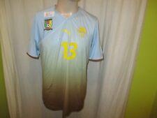 "Kamerun,Cameroon ""FECA FOOT"" Nr.964 Puma Matchworn Trikot 2012/13 + Nr.13 Gr.XL"
