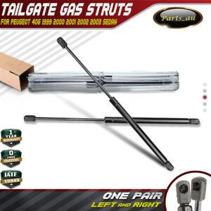Set of 2 Tailgate Gas Struts for Peugeot 406 Sedan 1999-2003 8731E9 445MM