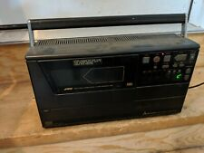 Vintage Mitsubishi # HS-71OUR Portable VHS VCR Video Cassette Recorder