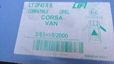 Corsa Van 93 - 2000 ventana eléctrica regulador eléctrico Ltop 43RB Delantero Derecho Lote H