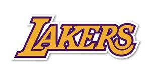 Los Angeles Lakers Decal / Sticker Die cut