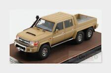Toyota Land Cruiser Fj79 Mtd 6X6 Pick-Up 1999 Brown GLM MODELS 1:43 GLM300702