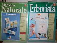 LOTTO DI 19 RIVISTE DI MEDICINA NATURALE Tecniche Nuove L Erborista Farmacia