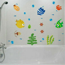 Ocean Fish Room Stickers Vinyl Removable Mural Wall Stickers Kids Bath Room Y3D6