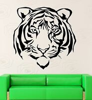 Wall Stickers Vinyl Decal Beautiful Tiger Animal Predator Room Decor (ig580)