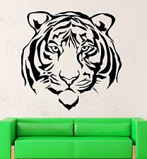Wall Stickers Vinyl Decal Beautiful Tiger Animal Predator Room Decor (ig580)