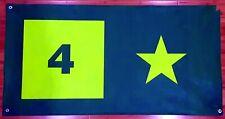 "Four Star skateboards banner 24"" x 47"" huge giant skate clothing girl chocolate"
