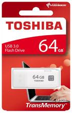 Toshiba TransMemory U301 64GB USB Flash Drive USB 3.0 - White - THN-U301W0640E4
