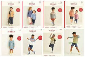 Sirdar Snuggly Replay Patterns Age 3-7 years  OUR PRICE £2.90