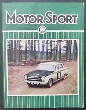 Revista Motor Sport -Vol XLIII-1967-January-No.01-The Teesdale Publishing-London