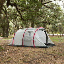 4 Man Inflatable Beam Tunnel Tent Four Person Berth Family Camping Pavillo Air