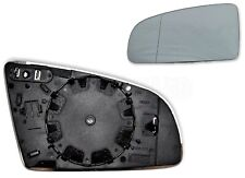 Audi A3 /03-08 A4 /01-08 A6 /05-08 Left Side Heated Door Mirror Glass Aspherical