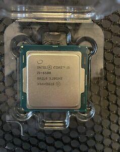Intel i5-6500 3.2 GHz Quad Core CPU Processor SR2L6 LGA1151 6th Gen Works Tested