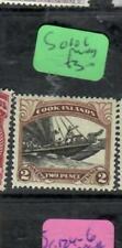 COOK ISLANDS  (PP3006B)  BOAT  2D  SG 101   MOG