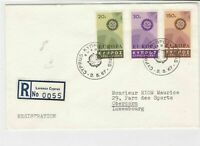 cyprus 1967 cogs stamps cover ref 21175