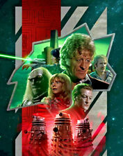 Doctor Who Japan BBC Series Picture 50x70cm Framed Collector Print