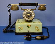 """Telefono antico """"ELEKTRISK BUREAU OSLO"""" anni '20 Old Phone"""