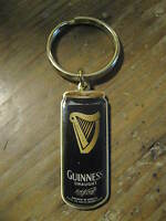 Guinness Draught Beer Harp Brown Can Dublin Ireland Irish Pub Gold NEW Key Chain