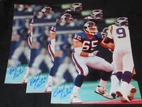New York Giants BYU Bart Oates Signed 8x10 Photo Vintage Autograph Pic 1 JB3
