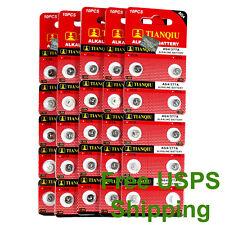 50 PCS LR66 AG4 377 LR626 1.5V Alkaline Battery for Watch Lighter Hearing Aid
