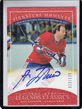 2004-05 UD CLASSIC LEGENDS GUY LAFLEUR SIGNATURE MOMENTS /125 AUTO AUTOGRAPH