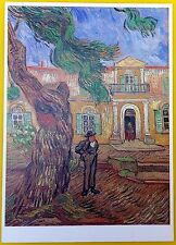 VAN GOGH Post Card: Saint-Paul's Hospital at Saint-Remy, 1889 - Brand New