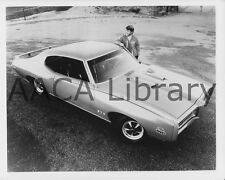1969 Pontiac GTO The Judge Hardtop Coupe, Factory Photo (Ref. #69467)