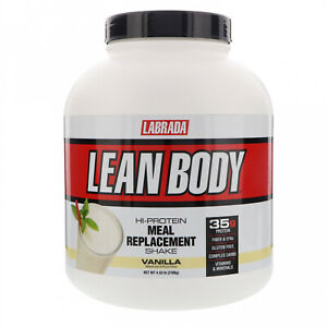Labrada Nutrition, Lean Body, Hi-Protein Meal Replacement Shake, Vanilla, 4.63