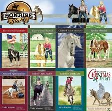 Vicki Watson Sonrise Stables Christian Children's Horse Series Set of Books 1-8