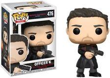 Blade Runner 2049 - Officer K - Funko Pop! Movies: (Toy New)