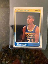 1988-89 Fleer Basketball #57 REGGIE MILLER ROOKIE................MINT