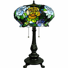 Tiffany style Maxenne Roses Table Lamp Tiffany style Lighting