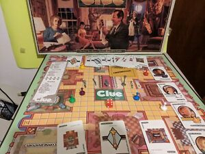 1992 Clue Board Game Replacement Parts Weapons Cards Rope Gun Wrench Pipe Token