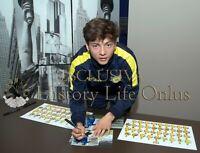 Foto Autografo Calcio Emanuel Vignato Chievo Verona Soccer Coa Signed Sport