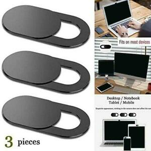 3pcs Camera Cover Slide Webcam Extensive Compatibility Protect Privacy