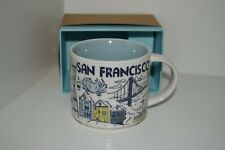 Starbucks Mug Tasse San Francisco USA California NEU! BEEN THERE SERIES