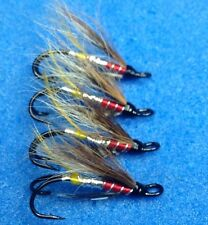 4 Quality Size 10 Double Dusty Miller Salmon Sea Trout Salmon Flies