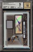 2008 Bowman Sterling Jesus Montero Rookie RC Jersey BGS 9 Autograph 10 Auto 13