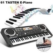 61 Schlüssel Einsteiger Keyboard E-Piano Kinder Piano 61 Tasten Mit Mikrofon