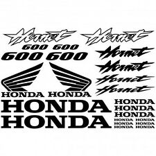 Kit Stickers Autocollants Moto - Honda Hornet 600 Réf.MOTO-041