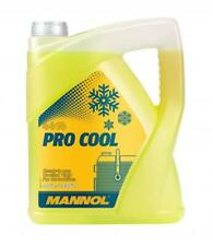 Mannol 5L Motorcycle Motorbike Motocross MX Offroad Engine Coolant Yellow