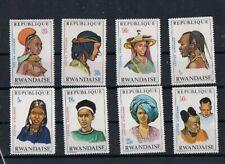 REPUBLIQUE RWANDAISE - 1970 COIFFES AFRICAINES. SET, MNH